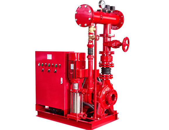 PEJ Fire Pump System Multistage Jockey Pump and End Suction Centrifugal Pump
