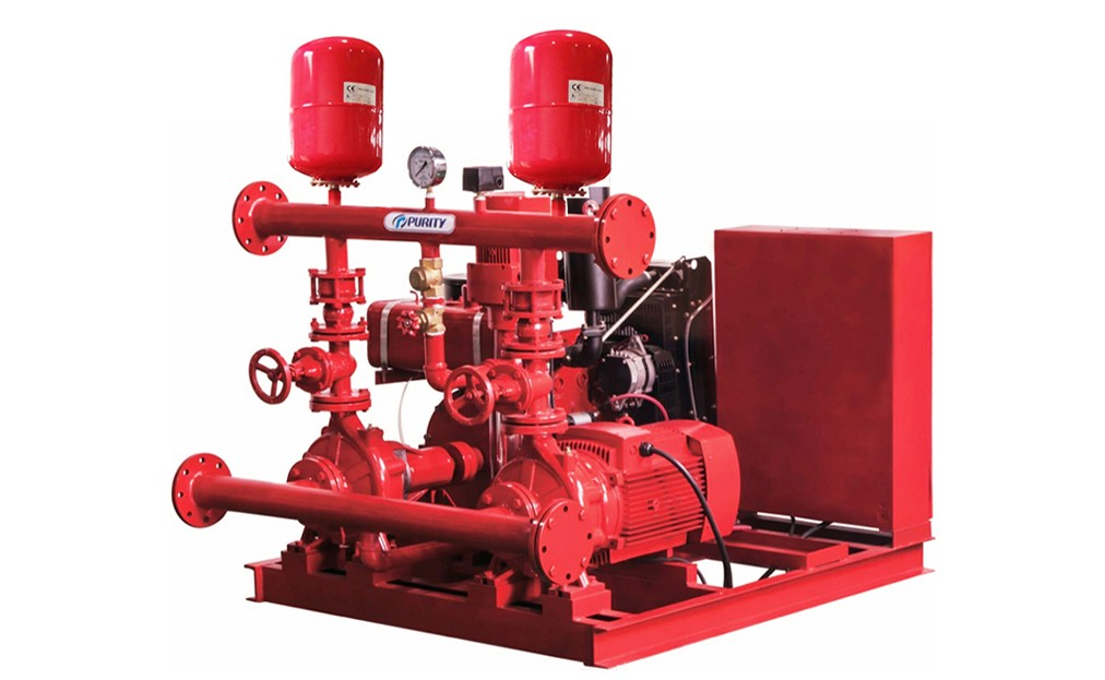 Fire Pump System Electric Diesel Jockey Pump from Purity Fire Fighting Pump Set Price 50Hz Fire Pump System Electric Diesel Jockey Pump from Purity Fire Fighting Pump Set