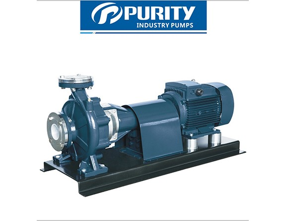[PSM] Industrial centrifugal pump coupled with motor