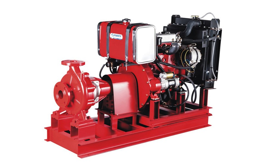 【PURITY PUMP】Diesel Pump in Fire Fighting System