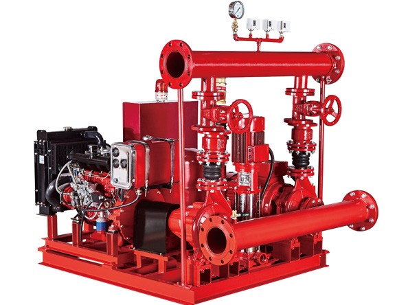 Fire Fighting Pump Set with Electric Diesel and Jockey Pump