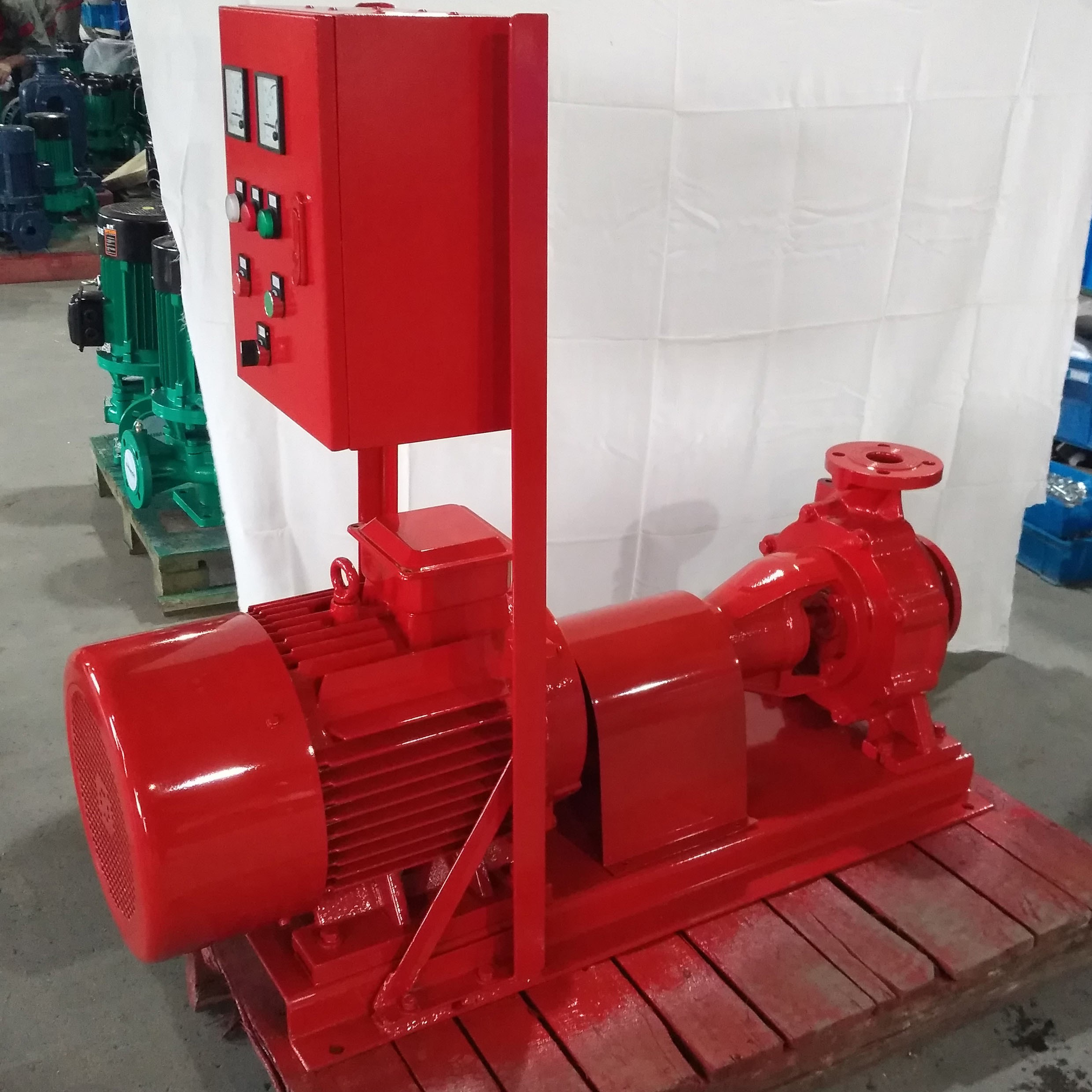 centrifugal pump coupled with the motor
