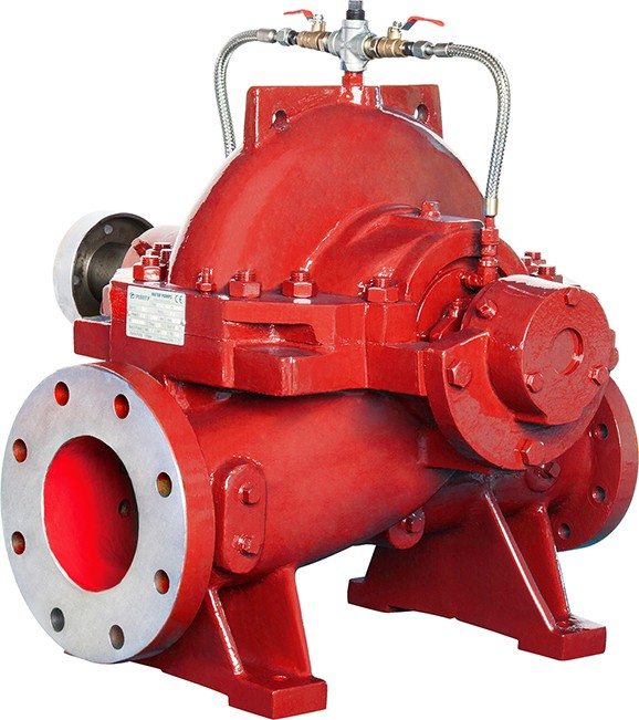 PSCF series split case pump for fire fighting from purity pump