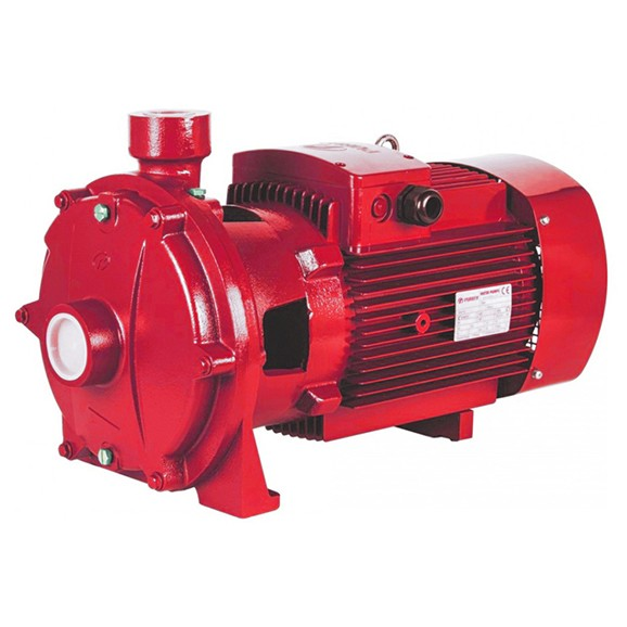 P2CF series double impeller centrifugal pump with thread port for fire fighting from purity pump