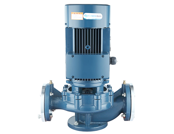 vertical pipeline pump